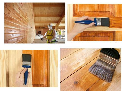 Чем обработать деревянный дом внутри после постройки. Зачем нужна защита древесины