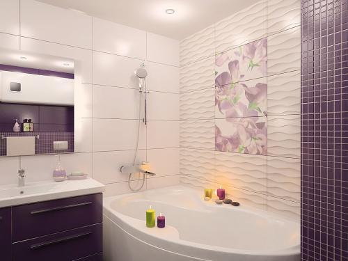 Что можно использовать вместо плитки в ванной. Чем можно отделать стены в ванной комнате, кроме плитки