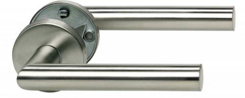 Как снять дверную ручку входной двери. Как снять ручку с железной входной двери?