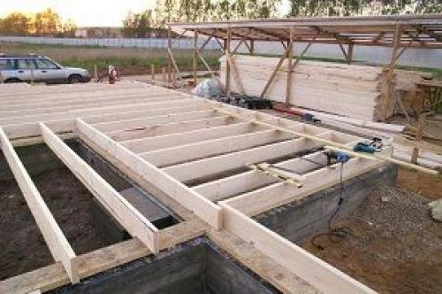 Ленточный фундамент для деревянного дома глубина заложения.