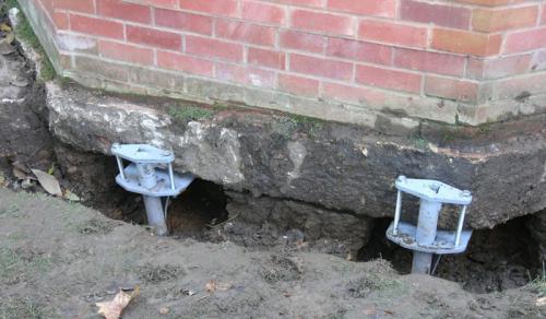 Усиление фундамента старого дома. Способы укрепления фундамента