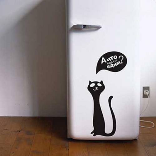 Обклеивание холодильника пленкой. Как выбрать плёнку для холодильника