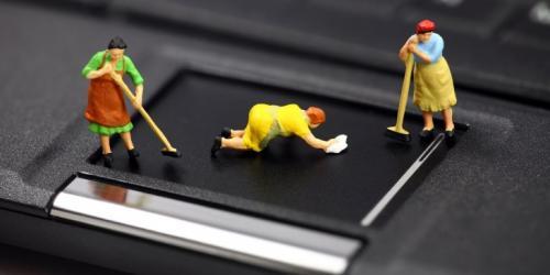 Как самостоятельно почистить ноутбук от пыли. Как почистить ноутбук от пыли самостоятельно