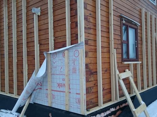 Чем утеплить дом из бруса. Утепление дома из бруса снаружи