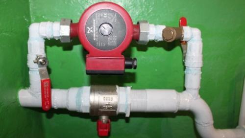 Двухтрубная система отопления двухэтажного дома. Гравитационная и принудительная