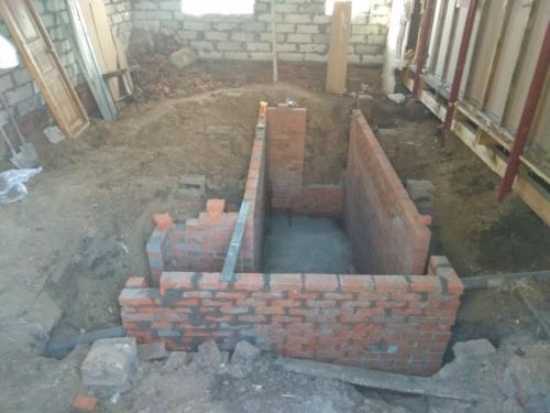 Устройство погреба в частном доме. Погреб из кирпича в частном доме своими руками в построенном уже доме