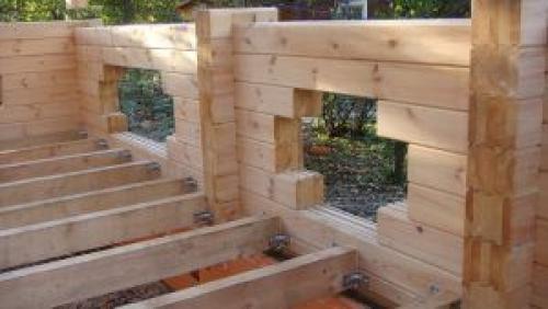 Устройство лаг для пола в деревянном доме. Деревянное основание
