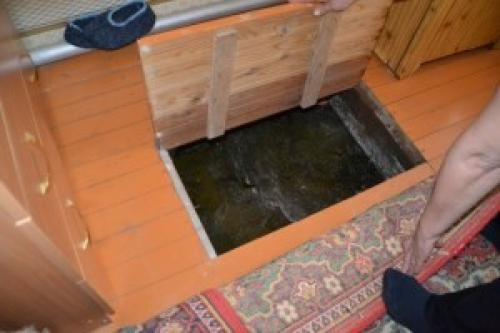 Под домом устройство погреба. Строительство подвала под домом