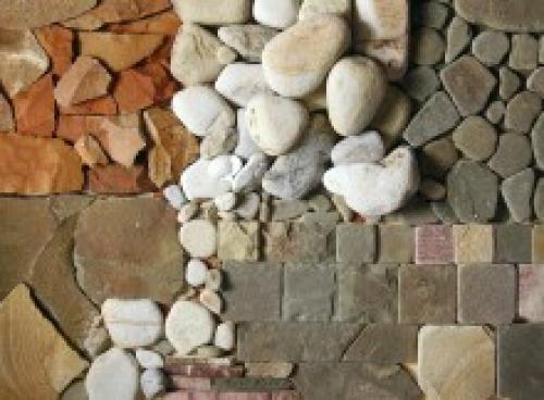 Декоративный камень для внутренних работ. Свойства отделочного камня для внутренних работ