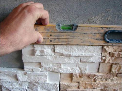 Как укладывать декоративный камень. Укладка декоративного камня