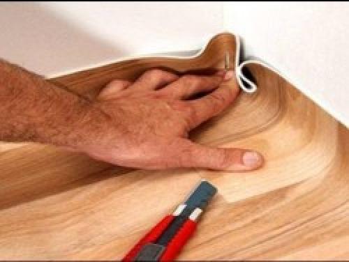 Как положить линолеум на бетонный пол. Укладываем линолеум
