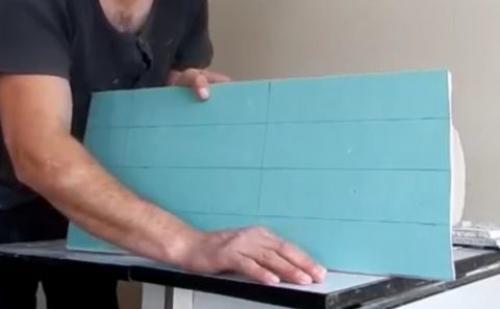Декоративная отделка гипсокартона. Создаём имитацию кладки