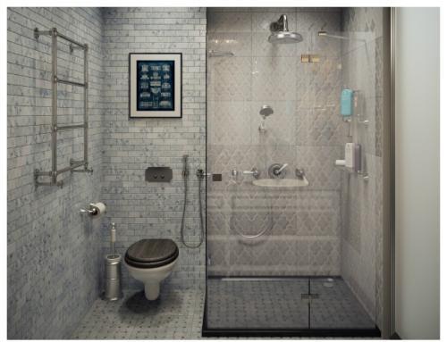 Планировка туалета и ванной в частном доме. Дизайн ванных комнат совмещенных с туалетом: последние тенденции