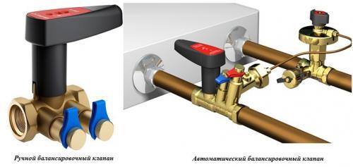 Монтаж двухтрубной системы отопления. Запуск и балансировка