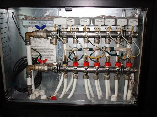 Система теплого пола водяного. Принцип действия напольного отопления