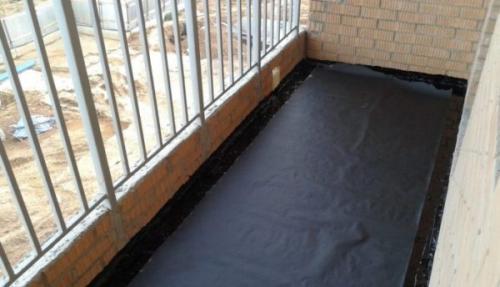 Гидроизоляция открытого балкона. Необходимость проведения гидроизоляции