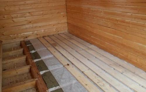 Деревянный пол в частном доме утеплить. Как утеплить пол в частном доме: практические советы