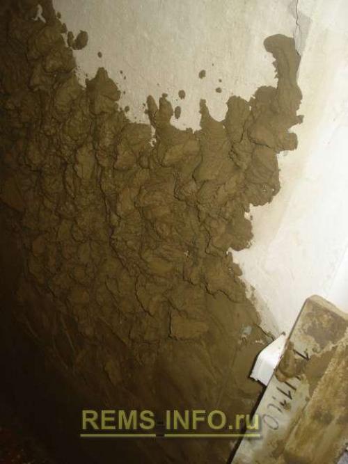 Штукатурка стен по маякам цементным раствором. Нанесение цементно-песчаной штукатурки