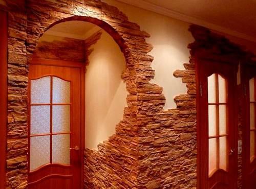 Укладка декоративного камня углы. Как выложить угол декоративным камнем
