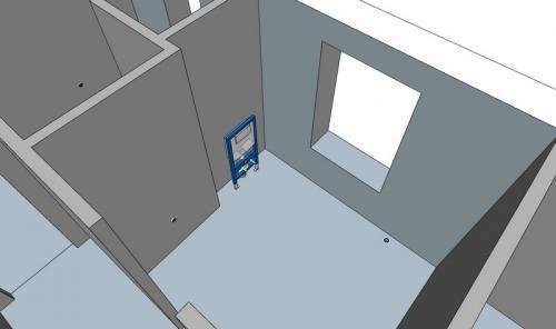 Проект санузла в частном доме. Идеальный санузел. Три ошибки, которые допускают при строительстве частного дома