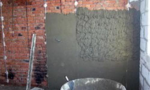 Цементно известковый раствор для штукатурки стен пропорции. Состав