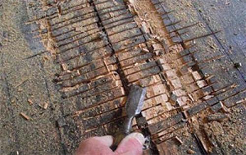 Подготовка пола под ламинат. Подготовка деревянного пола