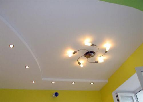 Потолок в дачном доме. Потолок для дачи своими руками: монтаж ГКЛ