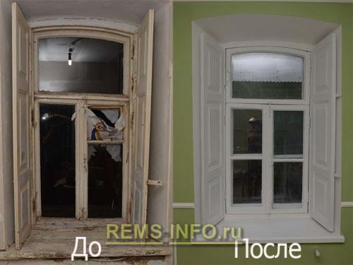 Как отреставрировать окна деревянные. Как самостоятельно обновить старые деревянные окна
