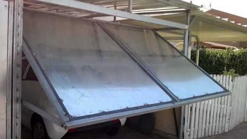 Конструкция ворот гаражных. Ворота гаражные подъемные своими руками: трудно, сложно, но возможно
