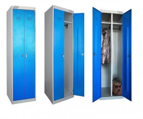 Шкафчик для раздевалки стандартные размеры. Обзор металлических шкафов в раздевалку, правила выбора